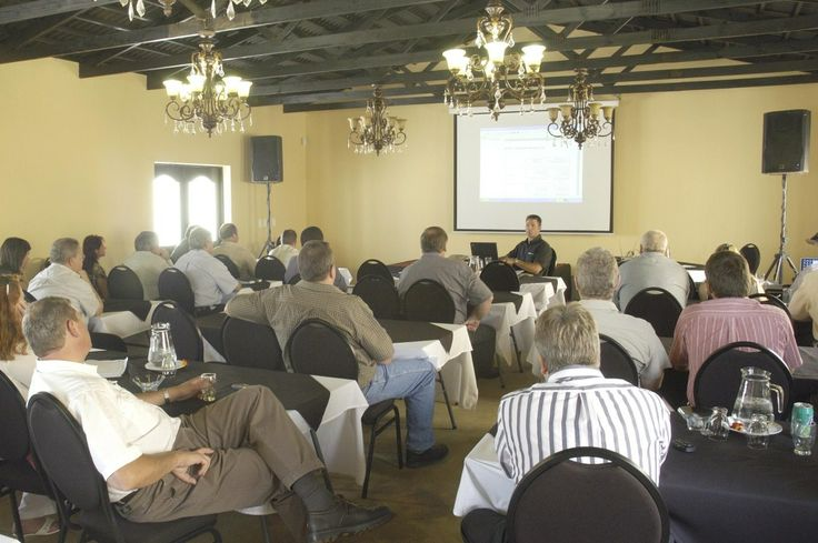 A well-appointed #carpeted #conference room with #screen, turns #conferencing into comfort-hours at wwwthabatshwene.co.za