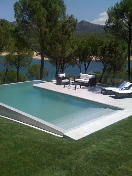 La Playa de Madrid, swimming pool project by Cement Design _                                                                                                                                                                                 Más