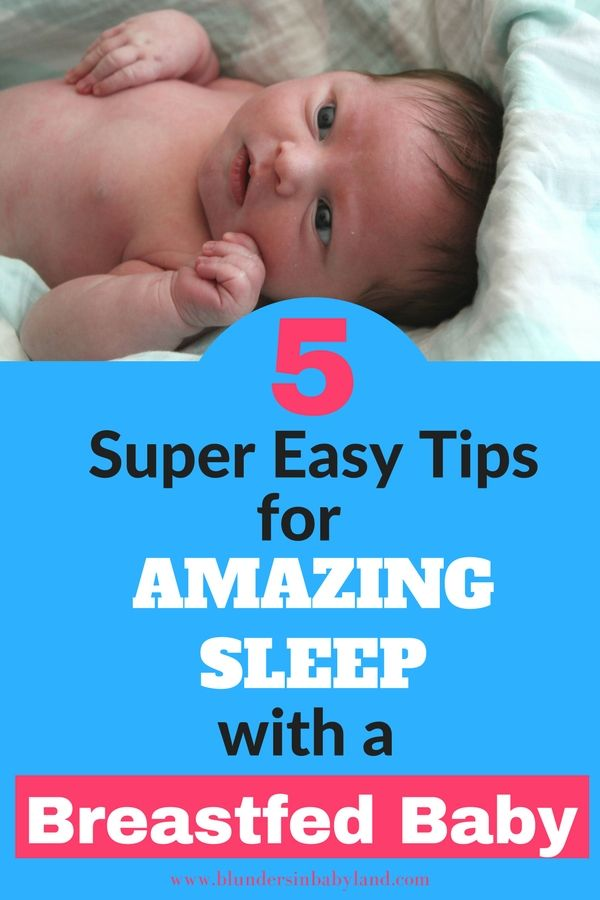 how to make a breastfed baby sleep through the night