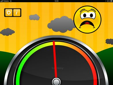 A useful app for keeping an objective noise level. Haven't tried it yet though.