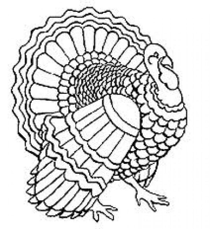 turkey coloring sheets