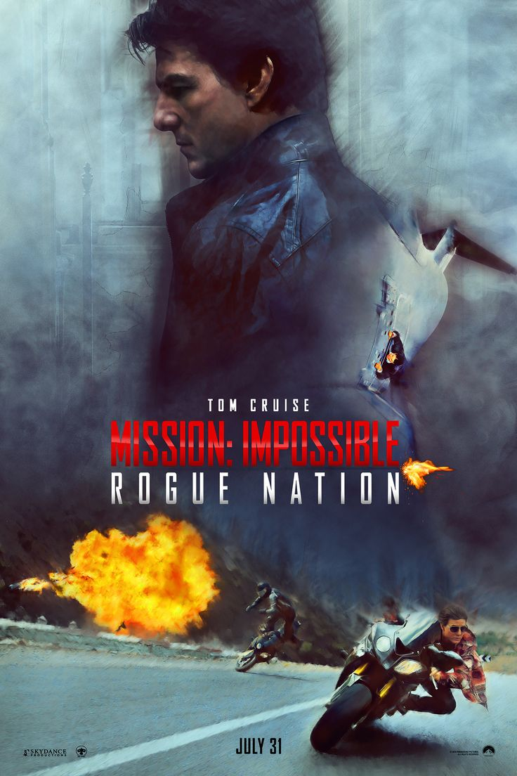 Mission Impossible 5 Fan Art Poster on Behance