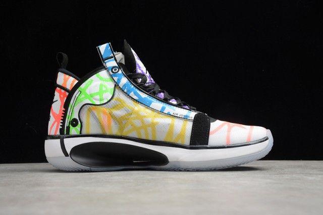 Zion Williamson X Air Jordan 34 Coloring Book Da1897 100 Men S Basketball Shoes Nike Basketball Shoes Air Jordans Basketball Shoes