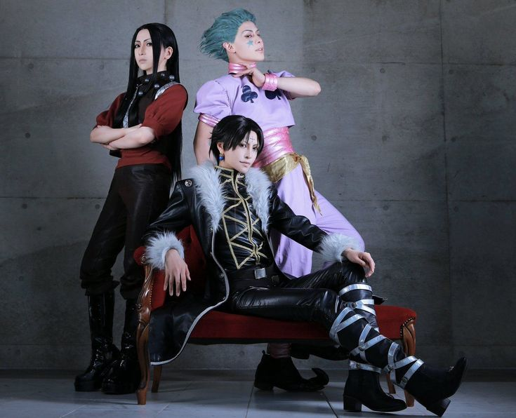 Hisoka, Illumi, Chrollo | Best cosplay, Cosplay boy