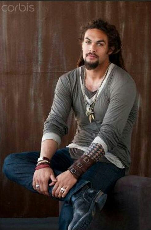 Jason Momoa/Khal Drogo (good god!)
