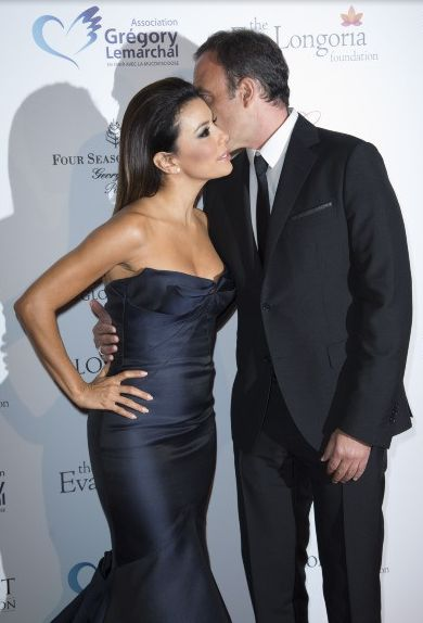 Eva longoria - Nikos Aliaga The Global Gift Gala Paris 2014 Four Seasons Hotel George V