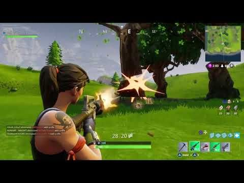 Fortnite Battle royale ep1: Trying to win... - YouTube