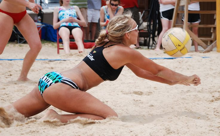 Beach Volleyball Dive