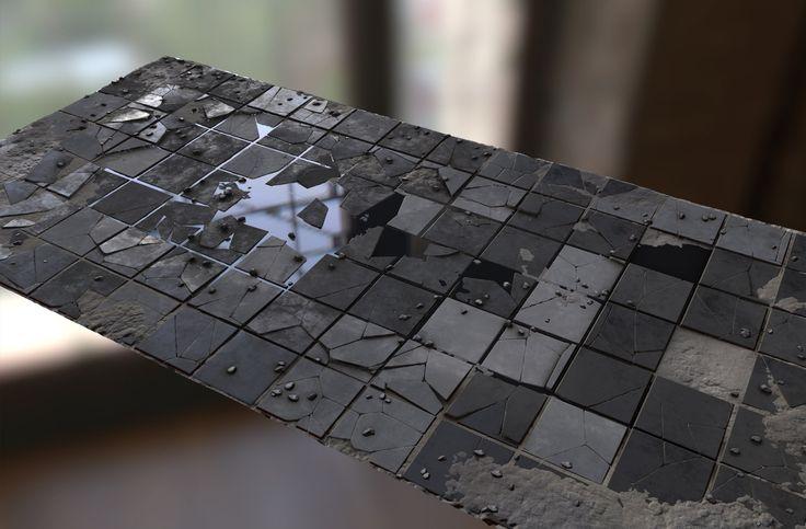 ArtStation - broken floor, david garrett