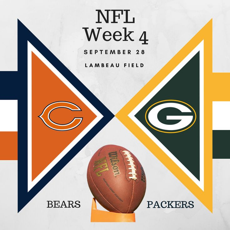 NFL Week 4 results, highlights, and standings. This week features the Chicago Bears and the Green Bay Packers Football Jerseys for Dogs