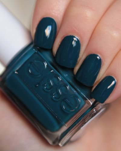 Go Overboard by Essie. Newest favorite color.
