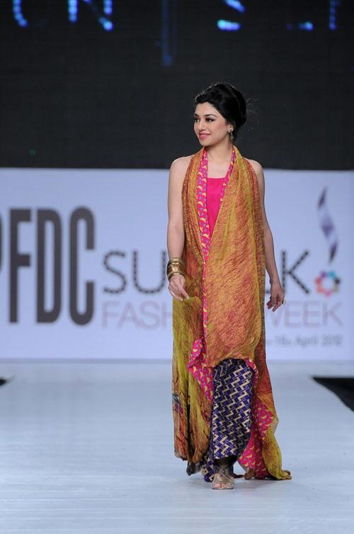 Sania Maskatiya Collection at PFDC Sunsilk Fashion Week 2012