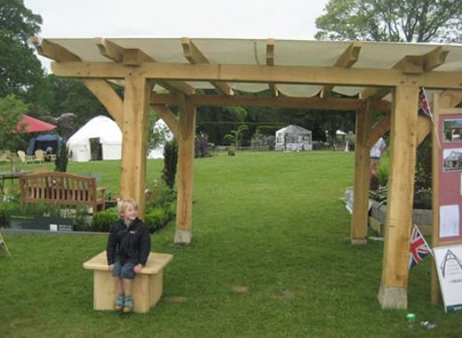 timber joints | Below is a green oak timber framed gazebo shelter that we built at & Best 25+ Traditional gazebos and canopies ideas on Pinterest ...