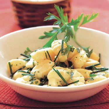 Käse-Kräuter-Gnocchi Rezept