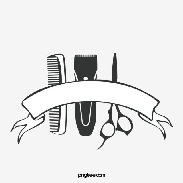 Cartoon Hand Drawn Cute Haircut Sign Illustration Barber Shop Scissors Comb Png Transparent Clipart Image And Psd File For Free Download Cute Haircuts Barber Shop How To Draw Hands