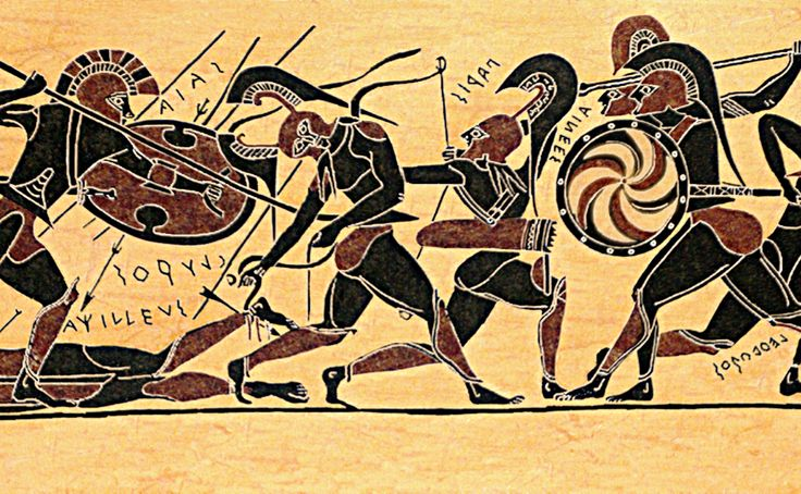 the epic death of achilles - Analyzing Military Tactics in the Iliad by Manousos Kambouris