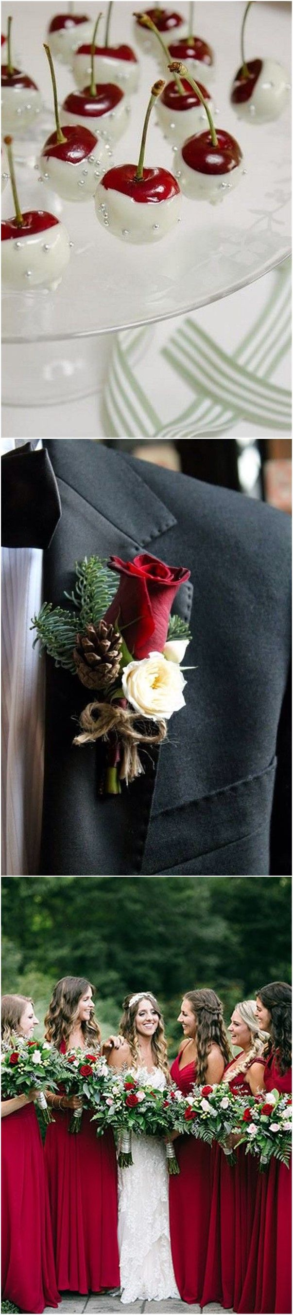 Wedding Colors»24 Eye-catching Red Winter Wedding Ideas You Will    Never Regret Having!
