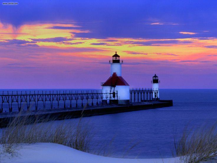 St. Joseph lighthouse, Lake Michigan