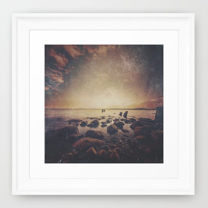 Dark Square Vol. 11 Framed Art Print
