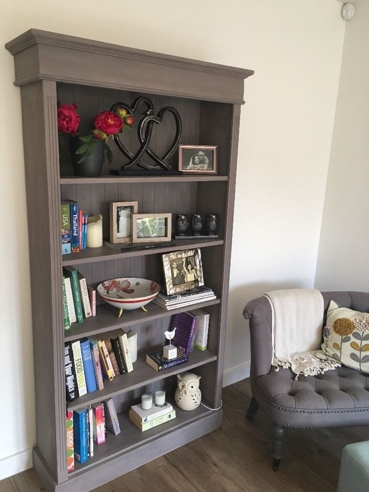 Restored Solid Pine Bookcase