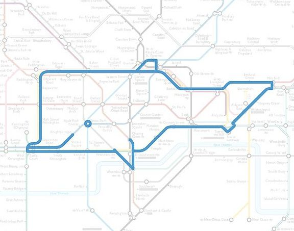 Wapping the Bottlenose Whale - 1 of 22 Animals Who've Been Hiding Out In The London Underground Map