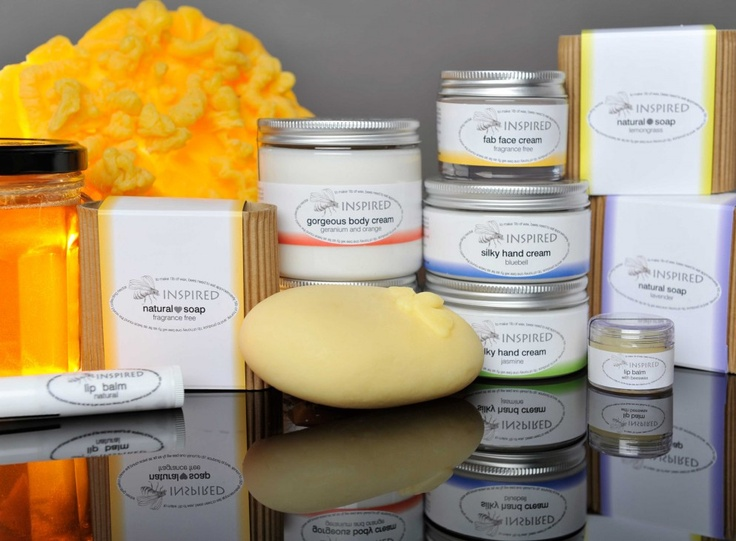 these superb creams are made using beeswax and honey form our hives, combined with a selection of natural oils (all chosen for their benefits to our skin). From the hive to the finished product - we do it all