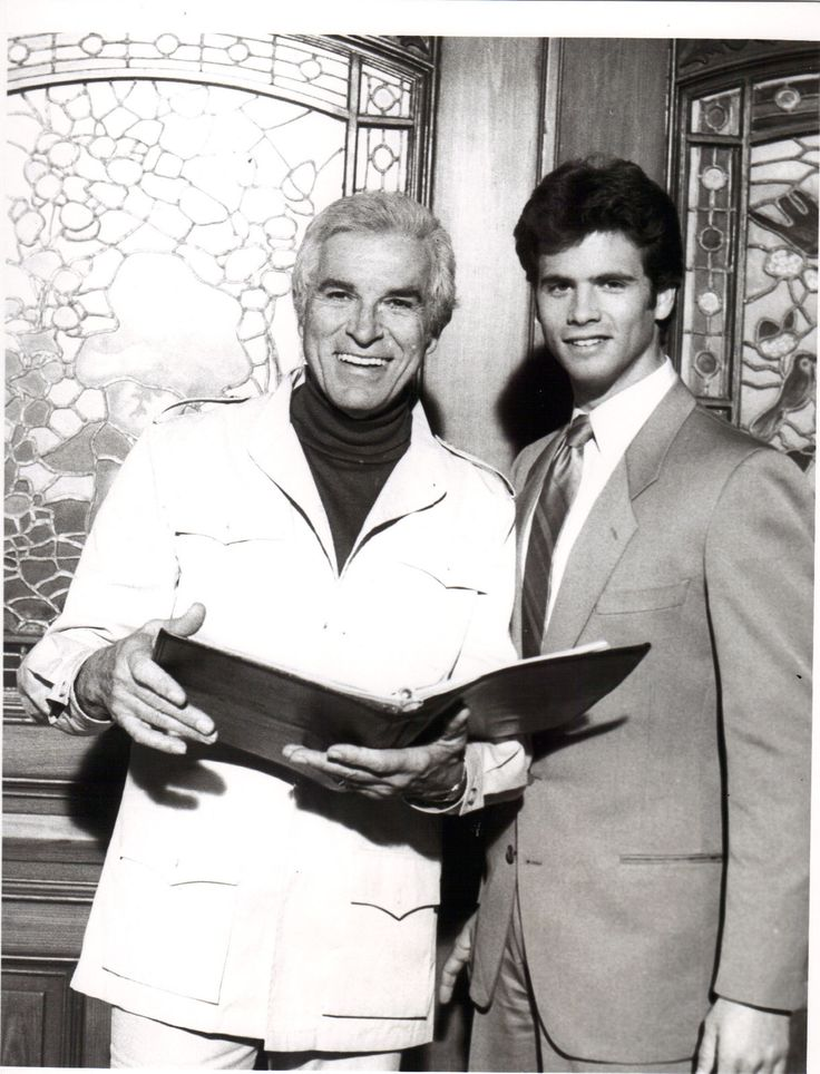 Fernando Lamas and son Lorenzo