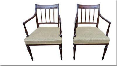 sheraton stílusú székek