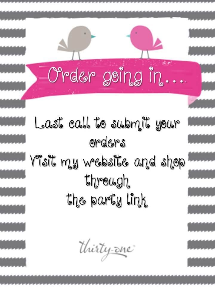 contact me to get FREE ship or FREE embroidery www.mythirtyone.com/foxytotes14