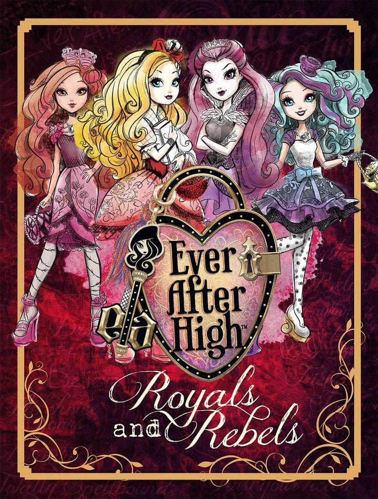 Ever After High-Pretty: Nuevo libro Ever After High-Reales y Rebeldes