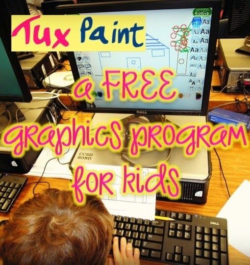 It's the little things...: Bright Idea Blog Hop. 1st Grade in the Computer Lab Tux Paint is a great program to use to help students develop their mouse skills. At the same time, students can practice basic keyboarding skills.