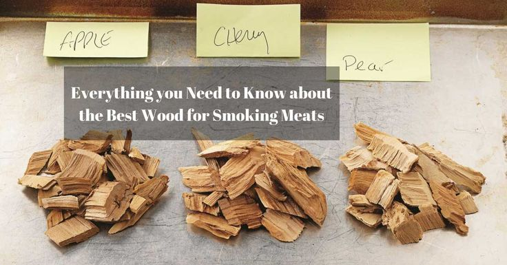 Using the best wood for smoking the kind of meat you have goes a long way in making it taste delicious. When it comes to smoking meat it is important to ...
