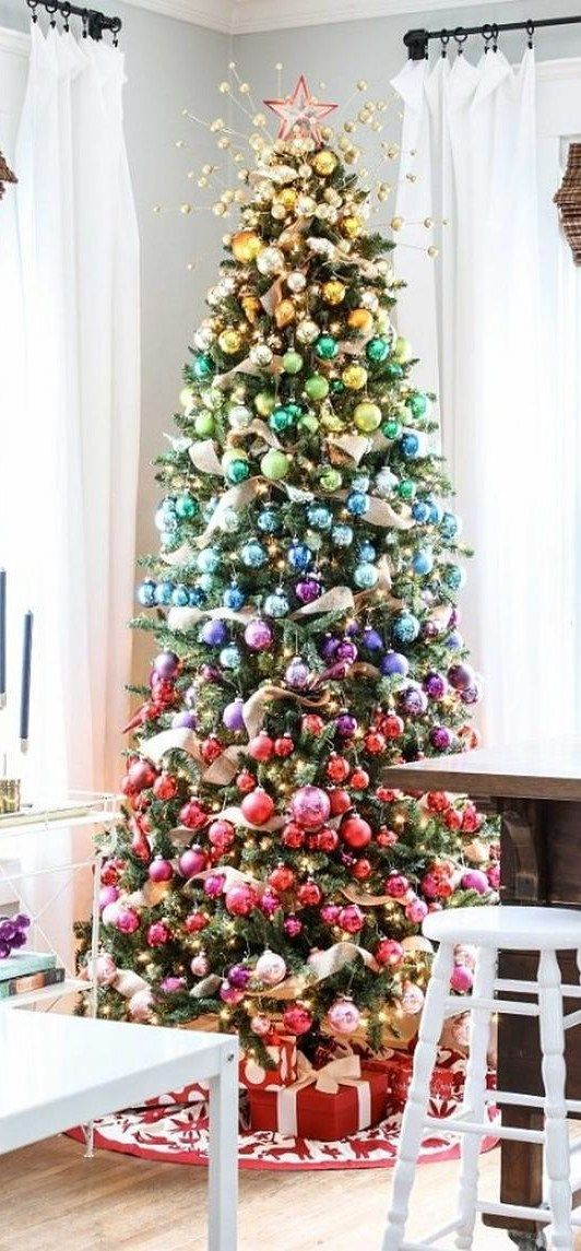 Christmas Decorating Ideas Tree Pinterest And Ombre