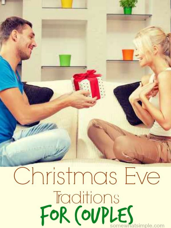 Make time to create Christmas traditions just for the two of you!