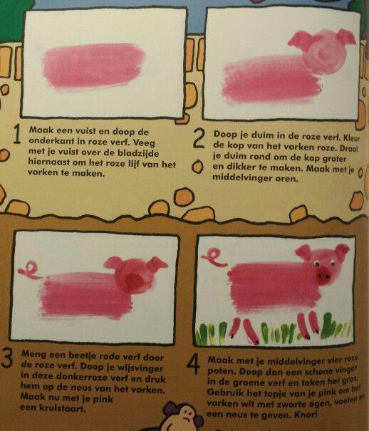 Plakboek: varken
