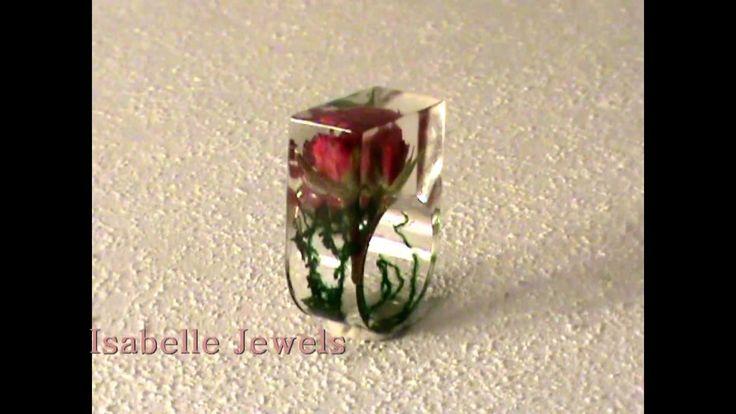 VIDEO - Gioielli Artistici Artigianali. Anello con bocciolo di rosa, rose resine ring. - real flower ring, jewelry design. Handmade unique pieces jewelry design, artistic jewelry. isabellejewels@ho... isabellejewels.com vetrificazione fiori veri, vitrified flowers jewelry design. handmade real natural flower flowers jewelry jewellery. #art #artist #amazing #beautiful #unique #jewelry #ring #anello #amazing #italy #natura #jewellery #nature #fiori #flower #flowers #design #moda #donna #girl…