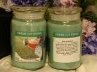 Soy candles are the way to go, as regular ones can be toxic!