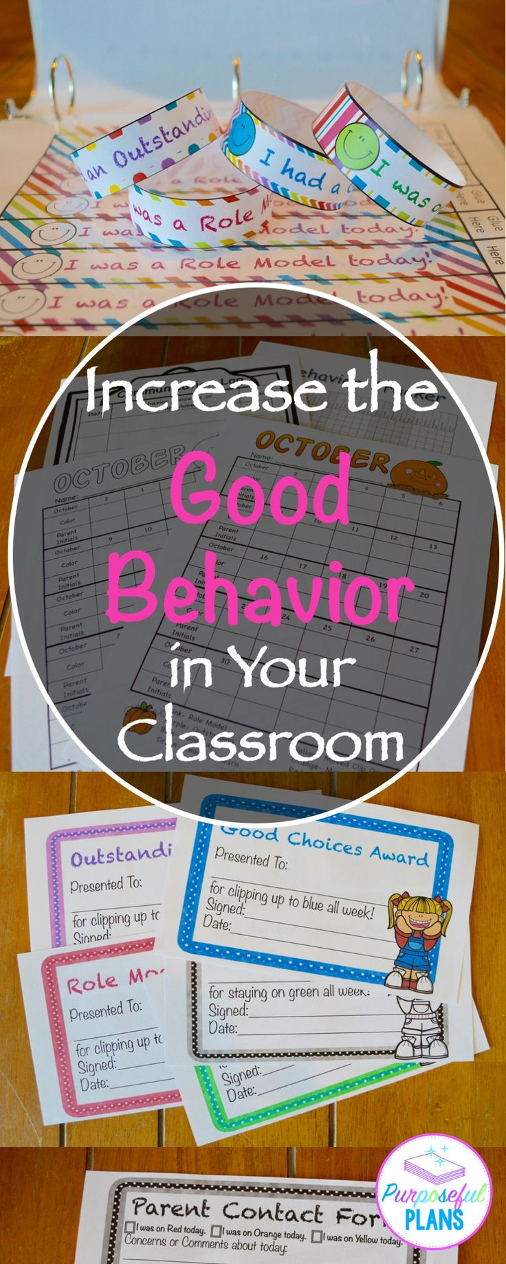 Increase the Good Behavior in Your Classroom