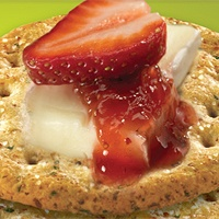Strawberries and Brie