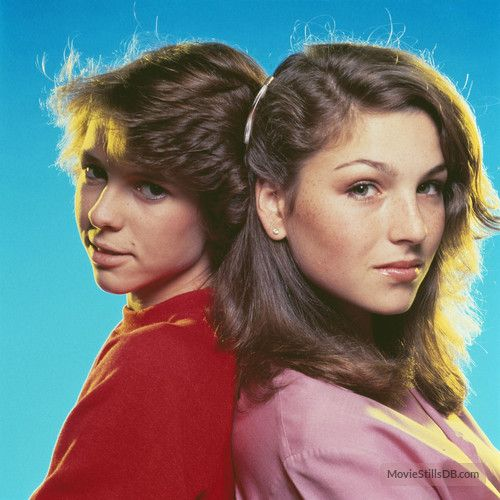 """Kristy McNichol and Tatum O'Neal (from a """"Little Darlings"""" promo shoot)"""