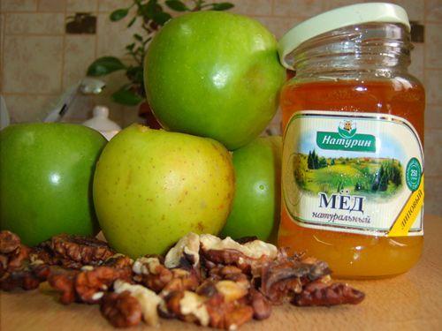 яблоки, орехи и мёд - самые полезные рецепты, которые можно приготовить быстро и полезно.