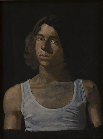 Study of Dominic's portrait, 1973 Yiannis Tsaroychis