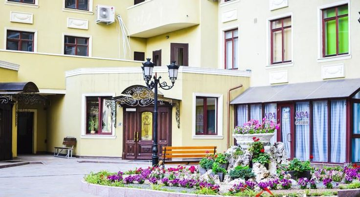 City Center Apartment Odessa Situated in Odessa, this air-conditioned apartment features a balcony. The property boasts views of the sea and is 400 metres from Odessa Archaeological Museum.  There is a seating area and a kitchen complete with an oven, a microwave and a fridge.