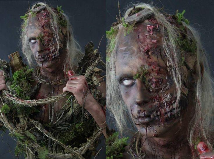 Praca: Justyna Zastąpiło #FXmakeup #FX #makeup #zombie #halloween