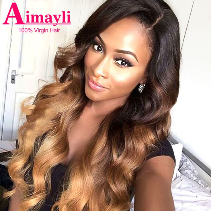 7A Ombre Brazilian Hair Body Wave Ombre 3 Tone  Brazilian Hair Weave Bundles 1B/4/27# Rosa Hair Products Cheap Ombre Virgin Hair
