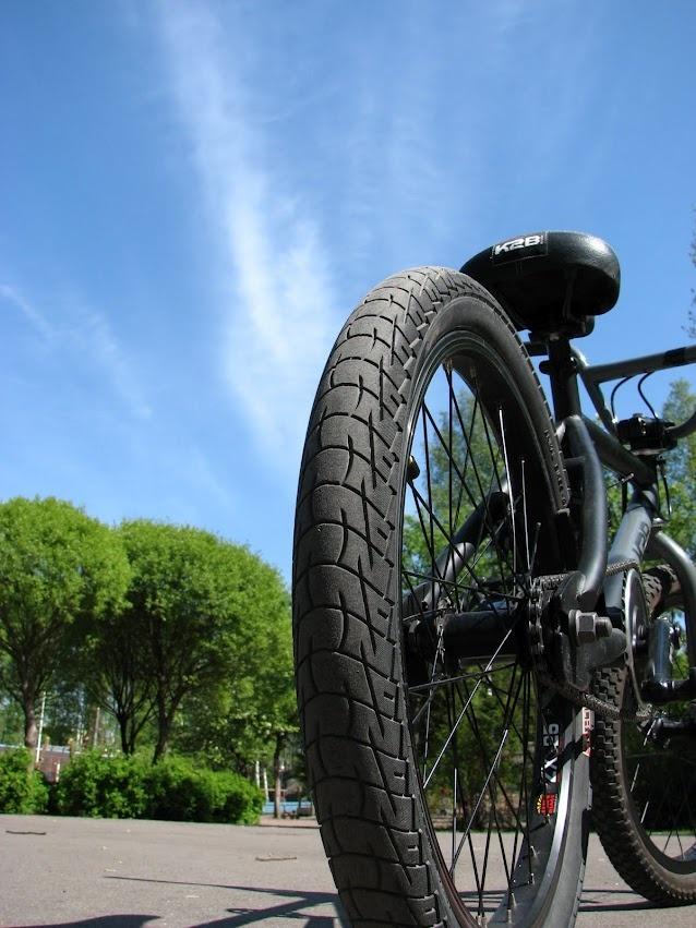 BMX rear end