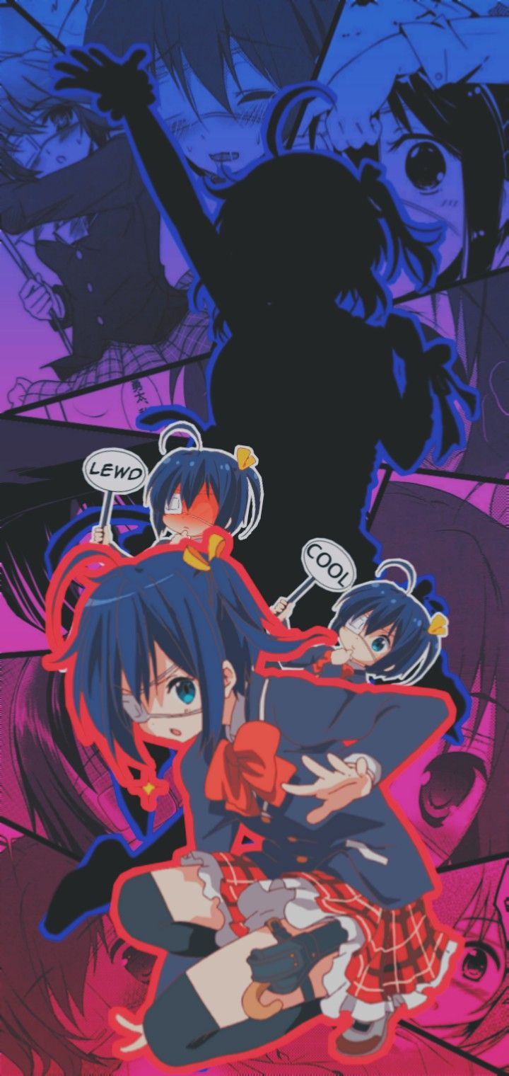 Edit De Rikka Takanashi Cute Anime Pics Anime Wallpaper Phone Kawaii Anime