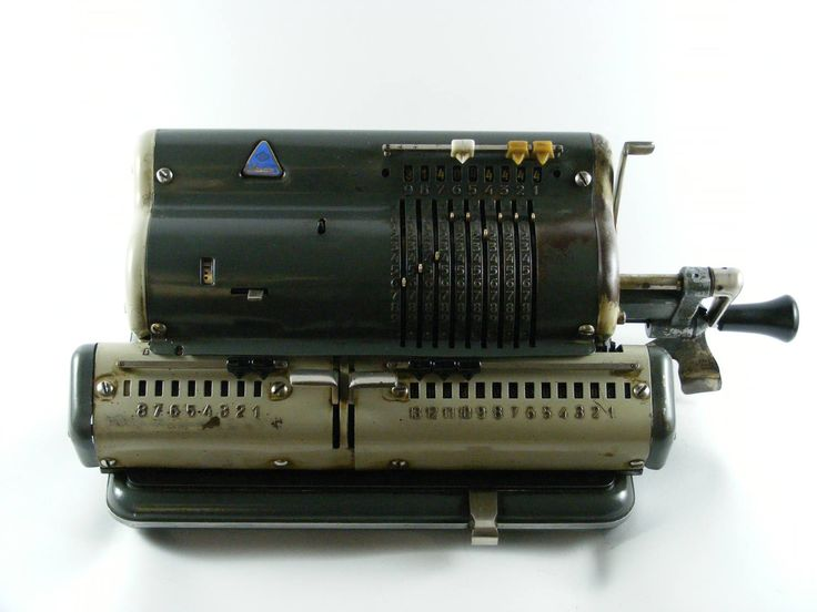 Vintage Mechanical Calculator RTS Zagreb Calculating Machine From 1960's by VintageshopSerbia on Etsy