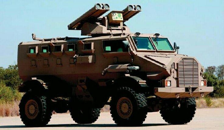 Casspir Mk5 ZT3 Ingwe ATGM