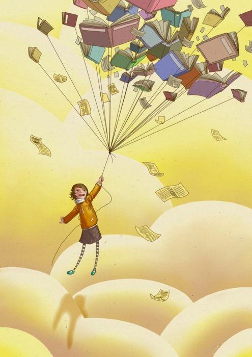 I read to escape.